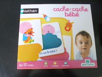 jeux pour bébés Cache cache bébé
