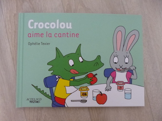 crocolou aime la cantine