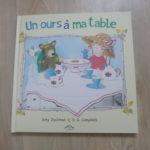 Histoire pour enfant - Un ours à ma table