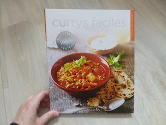 Livre de cuisine currys faciles for Livre de cuisine facile