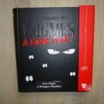 Livre jeunesse - Enigmes a faire peur
