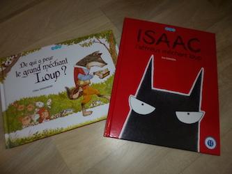 Livre pour enfants - Loup