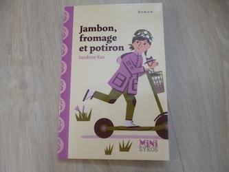 Livre jeunesse Jambon fromage potiron