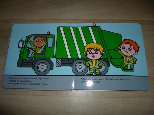 Le camion poubelles 1