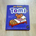 Livre bébé - Au dodo Tomi