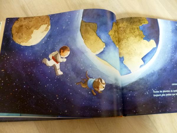 livre jeunesse - Système solaire