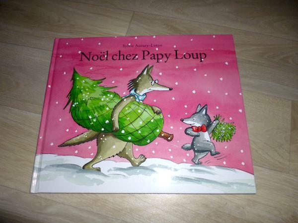 Histoire pour enfants - Noel chez papy loup