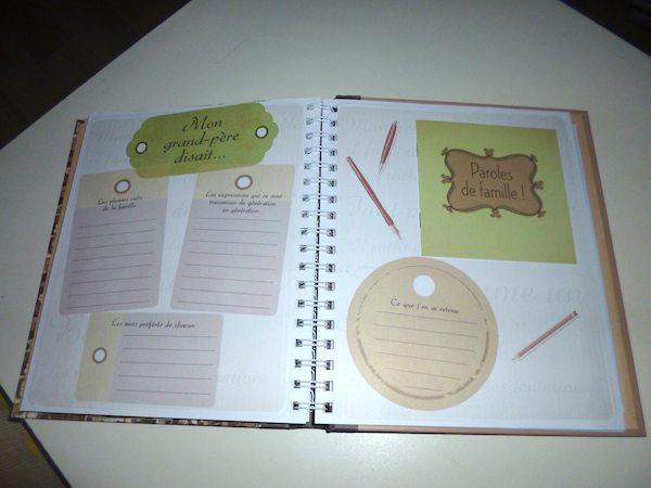 Journal de famille 1