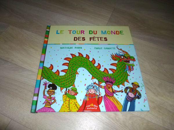 Livre jeunesse - Tour du monde des fêtes