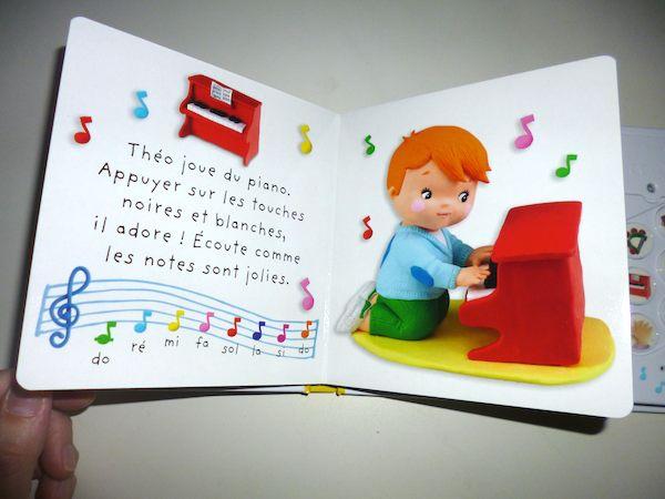 Livre sonore musique