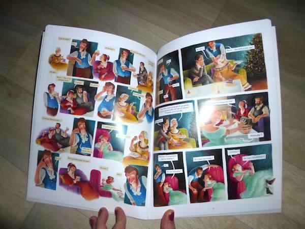 Bande dessinée pour enfants Scrooge 2