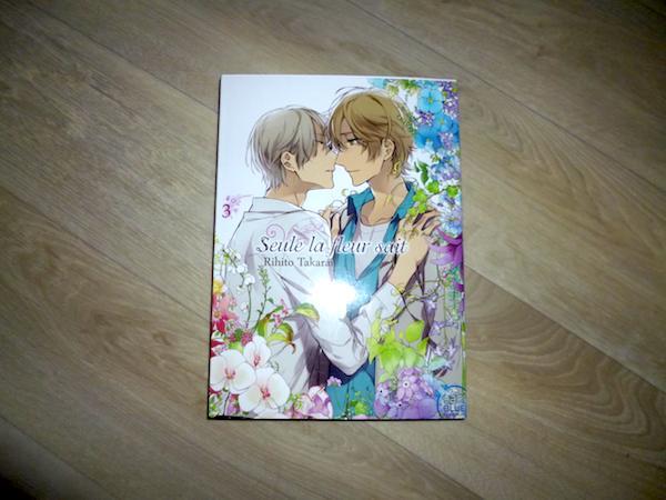 manga romance yaoi Seule la fleur sait