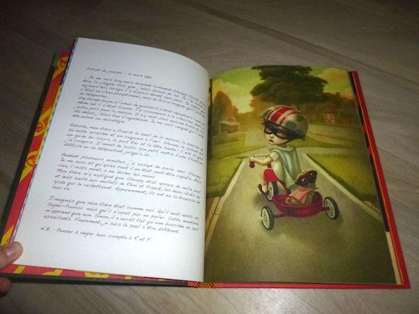 Livre pour enfants Super héros artichauts 1