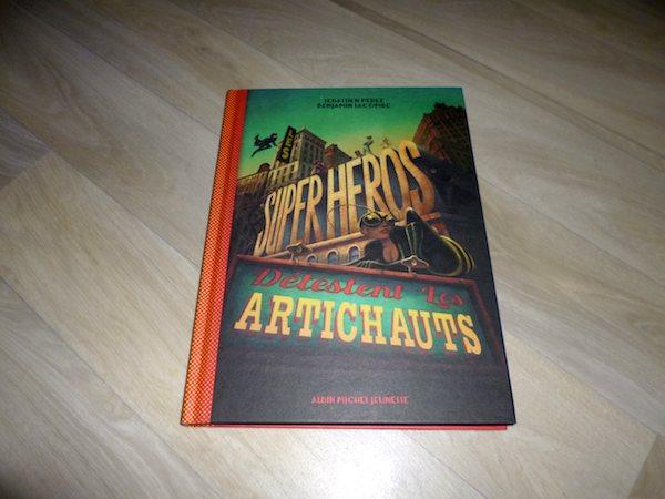 Livre pour enfants Super héros artichauts