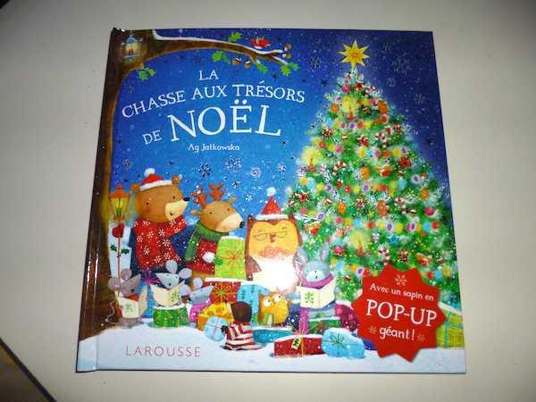 livre pop up La chasse aux trésors de Noel