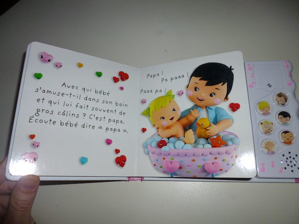 livre sonore bebe