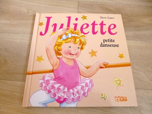 Livre enfant Juliette petite danseuse