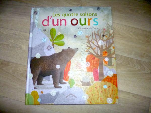 Histoire enfant Les 4 saisons d'un ours