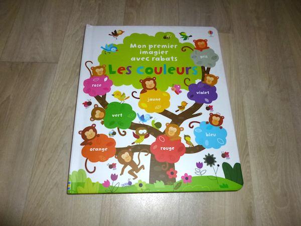 Livre pour enfant Les couleurs