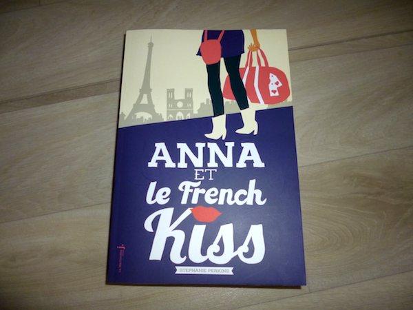 Livre ado - Anna et le french kiss