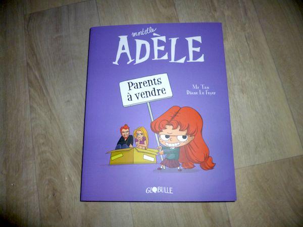 Bande dessinée pour enfants Mortelle Adele T8