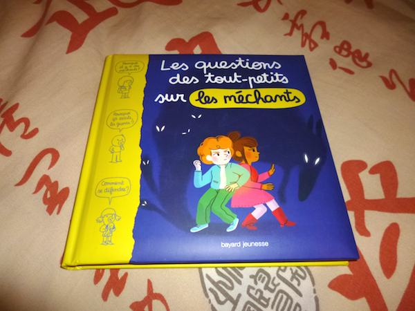 Livre pour enfants Questions sur méchants