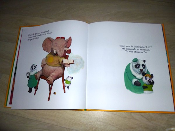 Histoire pour enfants Tchi le panda 2