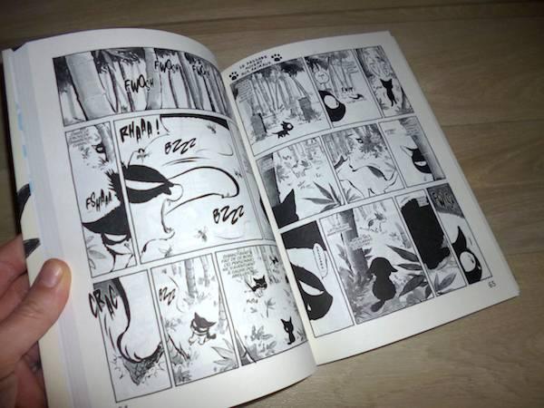 Manga seinen Kuro 1
