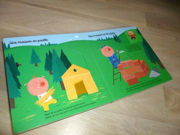 Livre enfants Les trois petits cochons 1