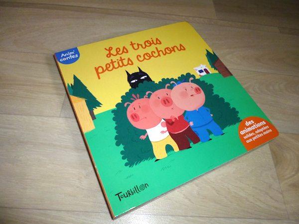 Livre enfants Les trois petits cochons