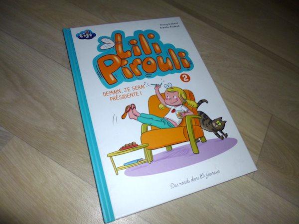 Bande dessinée pour enfants Lili Pirouli T2