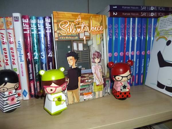 Manga shonen - A silent voice