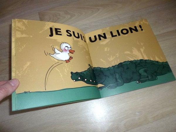 Je suis un lion 2