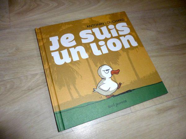 Livre pour enfants Je suis un lion