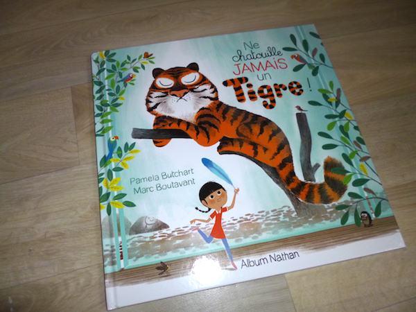 Histoire pour enfants Ne chatouille jamais un tigre