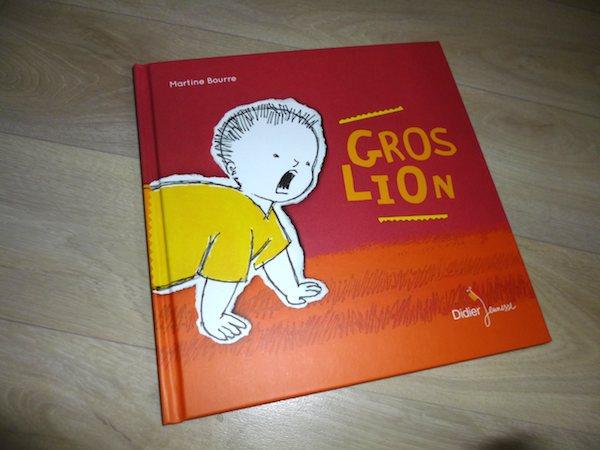 Histoire pour bébé Gros lion