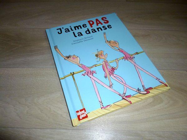Lecture pour enfants J'aime pas la danse