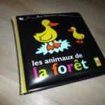 Livre bébé - Les animaux de la foret