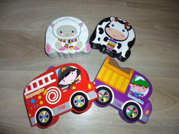 Livres pour bébé Petits livres Lito