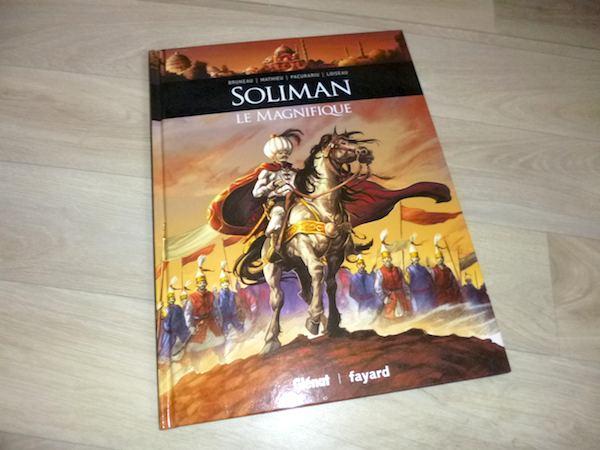 Bande dessinée pour adultes Soliman