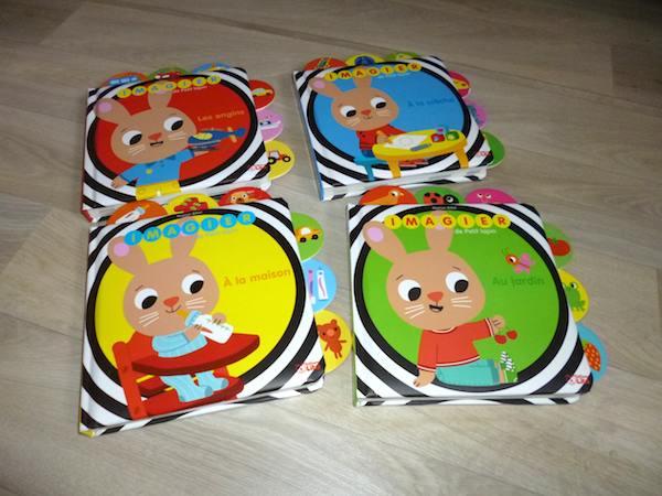 Livres pour bébés Imagiers Lapin