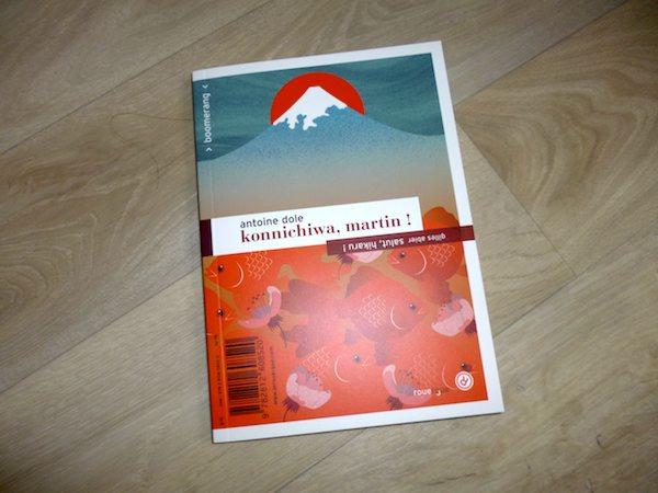 Roman pour enfants Konnichiwa Martin