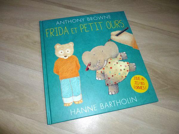 Livre pour enfants Frida et petit ours