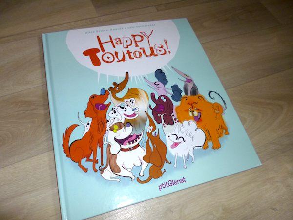 Livre pour enfants Happy toutous