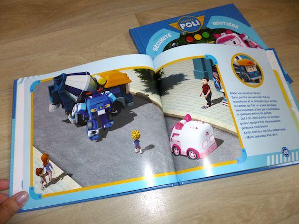 Livres pour enfants Robocar Poli 2