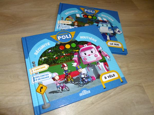 Livres pour enfants Robocar Poli