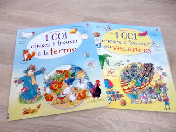 Livres pour enfants 1001 choses à trouver usborne