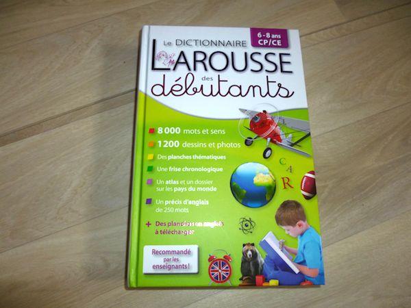 Le Dictionnaire Larousse Des Debutants Liyah Fr Livre