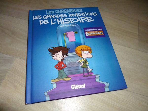 Bande dessinée pour enfants Grandes inventions de l'histoire