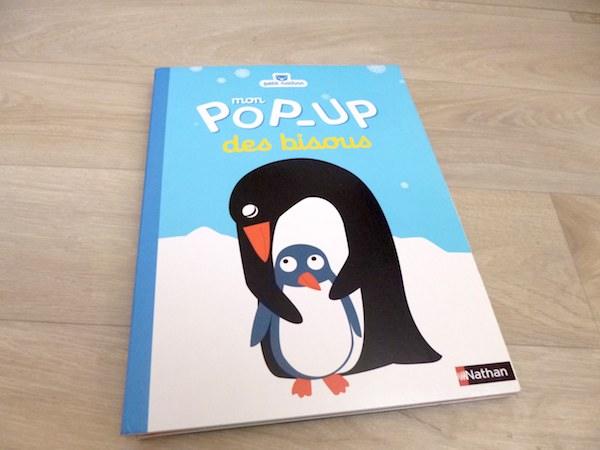 Livre Pop up bisous